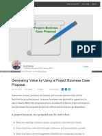 Project Business Case Proposal (Linkedin)