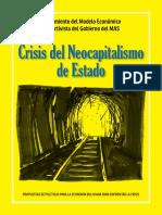 Crisis Del Neocapitalismo de Estado