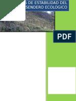informeestabilizaciondetaludsenderoecologicoudes-140328154815-phpapp01