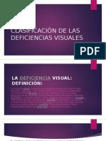 Clasificación de Las Deficiencias Visuales Ama