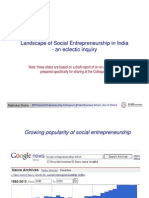 Landscape of Social Entrepreneurship in India - Madhukar Shukla