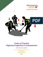 Code of Practice Highway Inspection