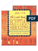 The Little Book of Egyptian Hieroglyphs