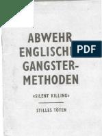 Against English Gangster Methods  Abwehr Englischer Ganngster Methoden