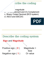 2.1.4 the Coding System
