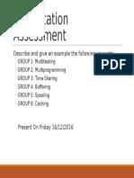 Presentation Assessment1