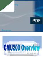 CMU200 Training