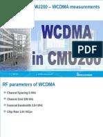 Training for Viettel WCDMA HSDPA