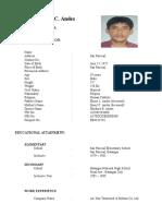 Gener c Andes Ftr