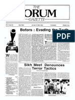 The Forum Gazette Vol. 3 Nos. 8 & 9 April 20-May 19, 1988