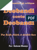 Condamnation Et Critique Deobandi Conte Deobandi par Kufr et Shirk