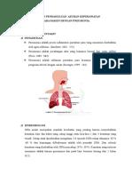 Laporan Pendahuluan Pada Pasien Dengan Pneumonia
