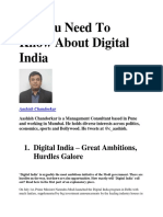 All You Need to Know About Digital India