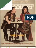 Vancouver Punk 1978
