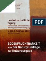 Inbjudan int. biodynamiska jordbrukskonferensen i Dornach