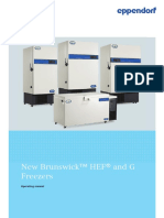 Operating manual - HEF and G -86 °C Freezers