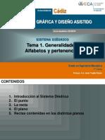 GIM. Tema 1. Generalidades. Alfabetos y Pertenencias