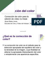 Corrección del color