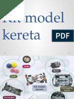 Kit Model Kereta - Set Induksi