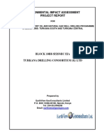 Final EIA Project Report for 2d Seismic Surveyin Block 10bb