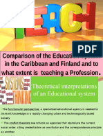 Comparison of the Education System in the Caribbean and Finland.
