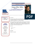 Mike Miller newsletter