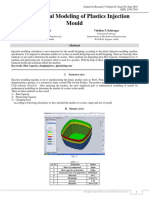 MATHEMATICAL MODELING OF PLASTICS INJECTION MOULD