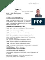 Curriculum Profesional