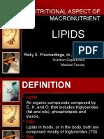 Nutritional Aspect of Macronutrient