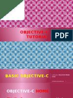 Objective C Tutorial