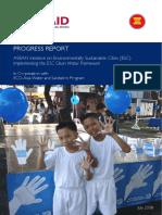 ASEAN ESC Progress Report July 08