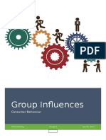 Group Influences Group 8