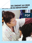 L'intérêt de l'enfant au coeur de l'action du Département