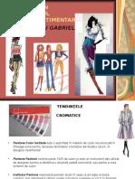 Textile Tendinţe Cromatice În Designul Vestimentar