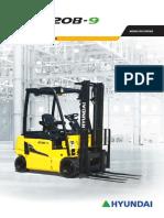 English 1-1-20 b 9 Forklift