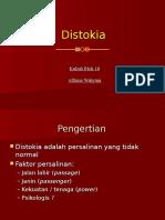 Distokia Blok 18