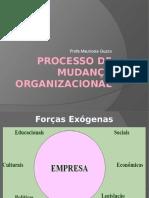 Aula 7 - Processo de Mudança Organizacional