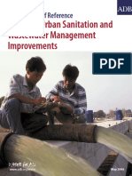 Model Terms of Reference-Planning Urban Sanitation and Wastewater Management