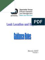 IWA Leak Detection and Repair_Guidance Notes