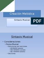 Creación Melódica
