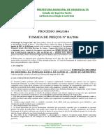 Edital Tomada de Preços 015-2016 Obra Reforma UBS Sede 01