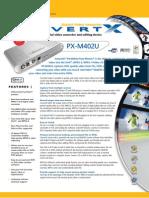 Plextor PX-M402U ConvertX