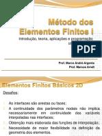 MEF - Aplicando em 2D