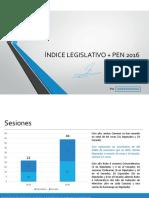 Índice Legislativo + PEN 2016