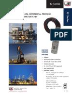 Pressure, Vacuum, Differential Pressure, And Temperature Switch