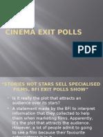 Cinema Exit Polls