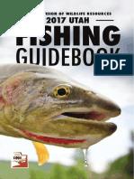 2017 Utah Fishing Guidebook