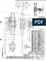 Válvula de sistema de  Hidrólisis en plantas de fertilizantes