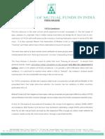 AMFI Press Release Dt 21-07-2016 FATCA Compliance