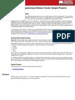 Vendor Sample Projects.pdf